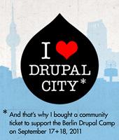 I'll be visiting Drupal City